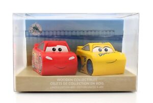 Disney-Store-Cars-3-Lightning-McQueen-Cruz-Ramirez-Wooden-Limited-Edition