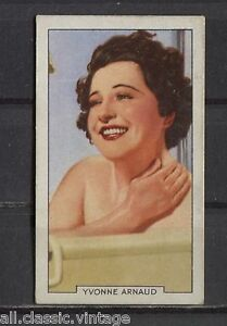 Yvonne-Arnaud-Vintage-Movie-Film-Star-Trading-Card-1935-Gallaher-26