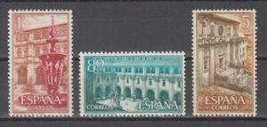 ESPANA-1960-NUEVO-MNH-SPAGNE-SC-SCOTT-965-67-MONASTERIO-DE-SAMOS