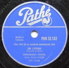 DOMINIQUE MICHEL (En veillant) sur l'perron / La famille CANADA QUEBEC 1957 78