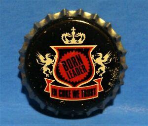 COCA COLA UNUSED BOTTLE CAP - RARE COKE 2005 - IN COKE WE TRUST - BORN LEADER