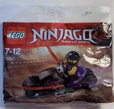 NEW//Sealed Polybag 2018 Ninjago Biker Minifig LEGO Set 30531 Sons of Garmadon