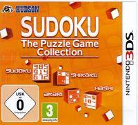 Nintendo 3 Ds Spiel Sudoku The Puzzle Game Collection Deutsch Neu Ovp