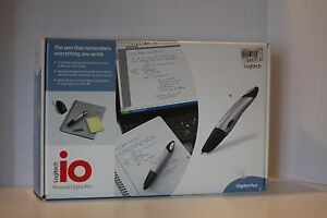Keyboards, Mice & Pointers Logitech Io 2 Personal Digital Pen New Un-open Box Item