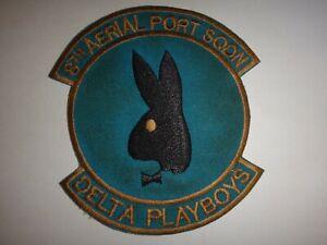 Guerra-Vietnam-Parche-Eeuu-8th-Antena-Puerto-Escuadron-Delta-Playboys-en-Tan-Son