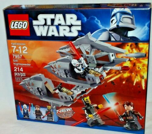 Savage 214pc Asajj Retraite Wars Opress Nightspeeder Ventress Star 673419145855 Lego La À 7957 Sith HxSFFz