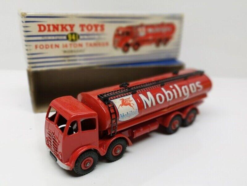 DINKY TOYS   941 Foden 14 Ton Tanker Mobilgas Mobil - MB