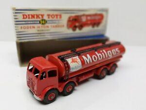 DINKY TOYS # 941 Foden 14 Ton Tanker Mobilgas Mobil - MB