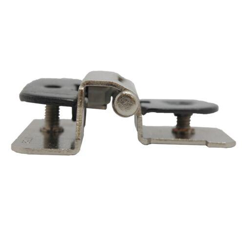 "PAIR AMEROCK Steel 1//4/"" Overlay Double Demountable Hinge Satin Nickel CMR8701G10"