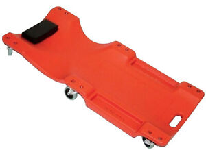 40-034-Mechanics-Plastic-Body-Creeper-w-Swivel-Castors-Car-Maintenance-Repair-DIY