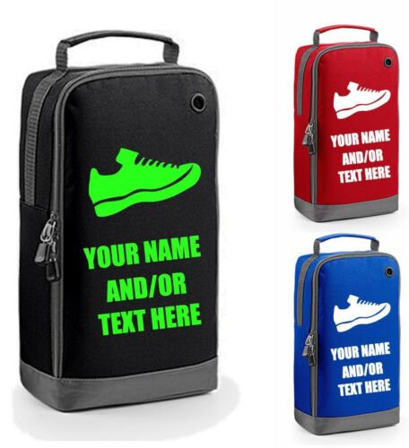 TRAINER BAG shoe shoes boots personalised school football trainers school PE gym