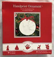 Child To Cherish 7 Handprint Ornament Figurine Craft Kit With Marshmallow Clay