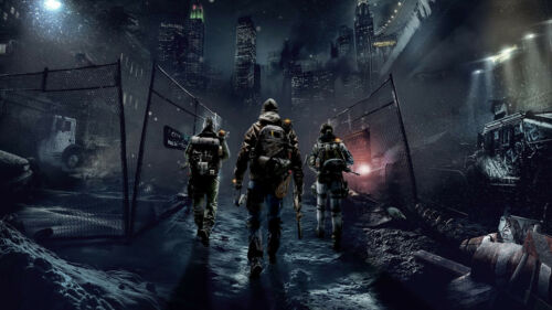 Tom Clancy/'s The Division Gaming PosterSizes A4  to A0 UK Seller E216