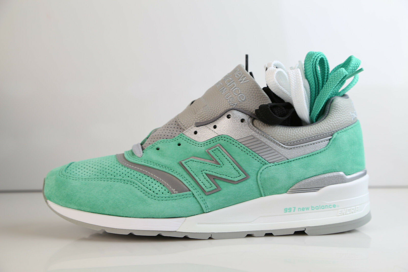 New Balance Concepts 997 Rivalry Pack New York M997NSY Teal Made USA 11-12