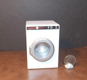 Dollhouse Miniature Furniture Laundry Appliance Roller Washing Machine 1//12
