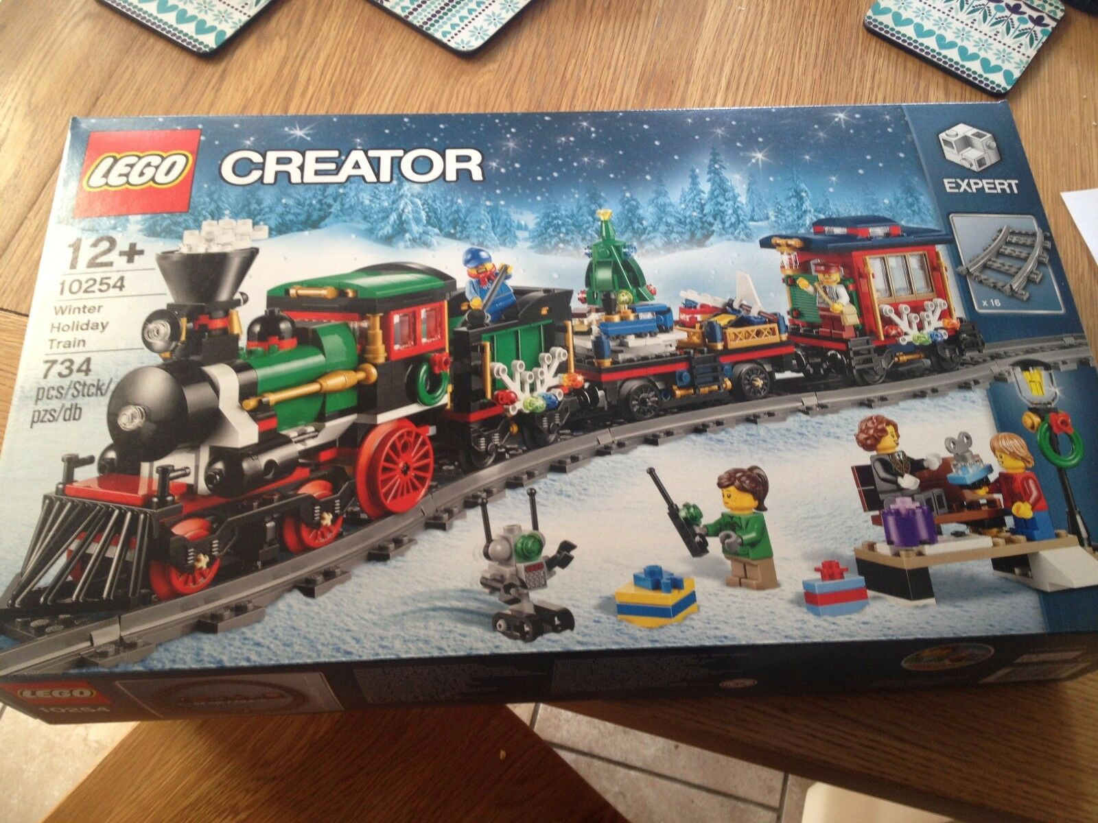 Lego CREATOR  10254 Winter Holiday Train BRAND NEW SEALED