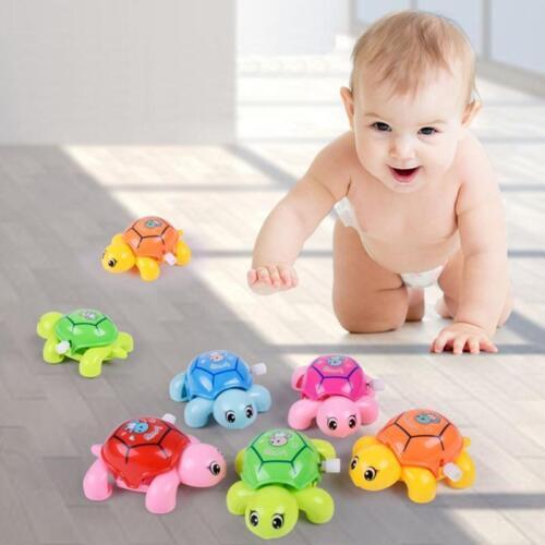 Baby Animal Tortoise Turtle Education Toys Clockwork Wind-up Kids Develop Toy GA