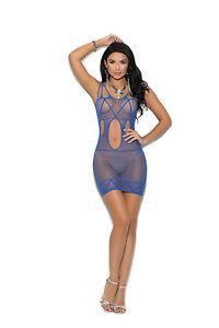 Elegant Adult Woman Clothing! One Size Crochet Mini Dress w//Cut Out Detailing