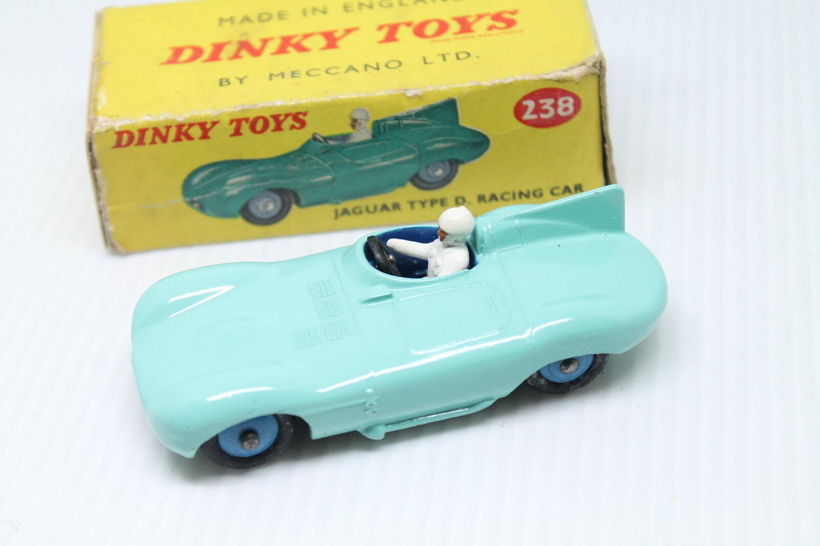 DINKY TOYS 238 * JAGUAR TYPE D RACING CAR * 1:43 * OVP