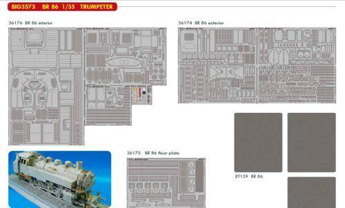 Eduard Big Ed 1 35 Br86 Kriegslkomotiv  3573  | Innovation