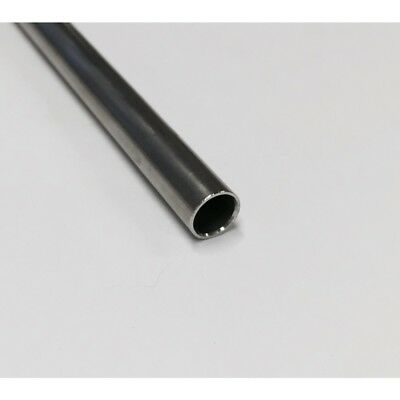 """2/"""" OD Stainless Tube x 0.120/"""" Wall x 60/"""" Long  316L  NEW made in USA"""