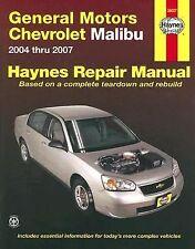 2004-2007 GM Chevrolet Malibu Repair Manual