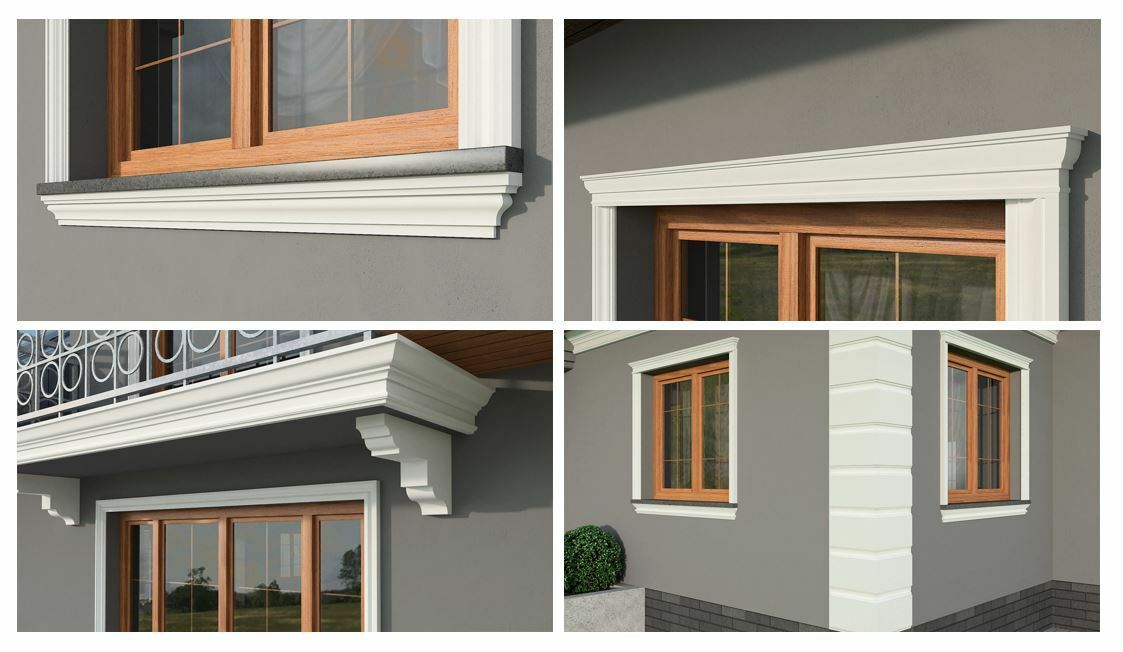 Exterior Coving Cornice Outside Window