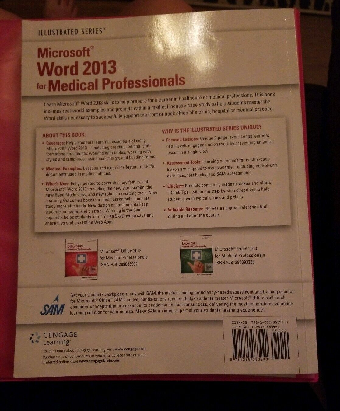 Microsoft® Word 2013 for Medical Professionals by Jennifer Duffy and Carol  M  Cram (2014, Paperback)