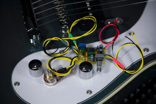 Low Impedance Preamp Jackson Guitar JE-1500 Parametric-Mid E.Q