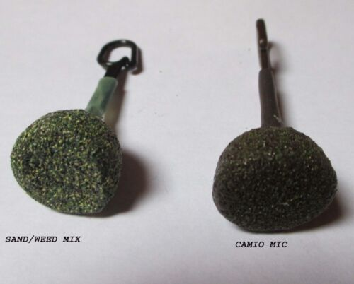 Backlead Lead Fishing Weights Including Hooks /& Rubbers