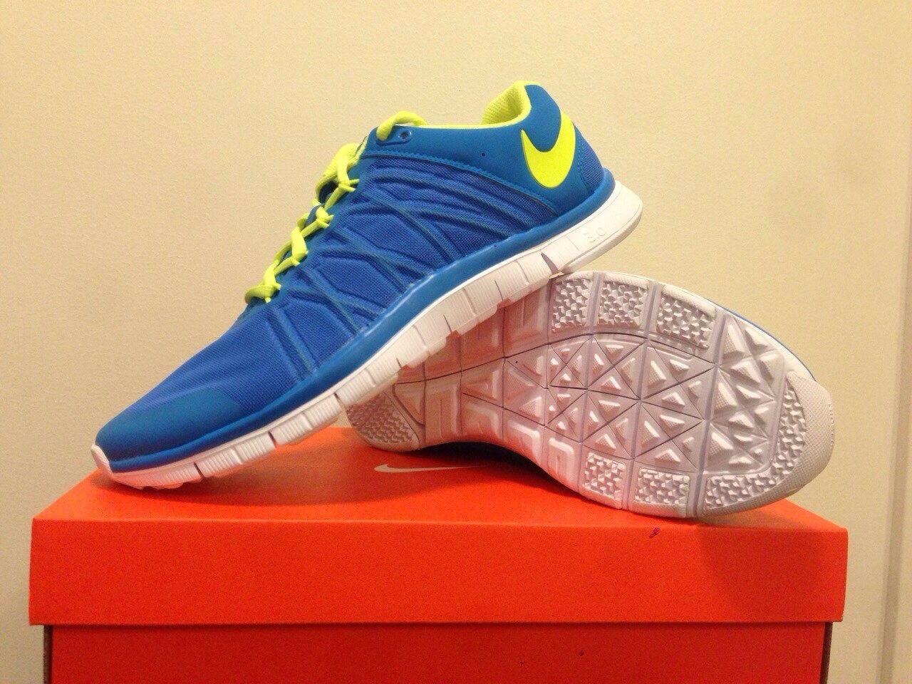 Nike bei free trainer 3.0 (blau) bei Nike uns größe 9,5 (keine kiste umschlag) ad9a01