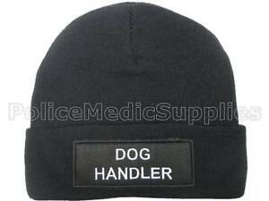 DOG HANDLER Beanie Hat for Police Security Officer Canine K9 Patrol ... 51b023cdb26