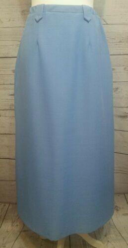 Willow Ridge Womens Skirt Blue Career A-line Stret