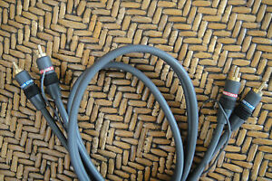 Monster-Cable-Interlink-101-1m-3-3ft-RCA-Connection-LP-Audio-Interconnect-Cable