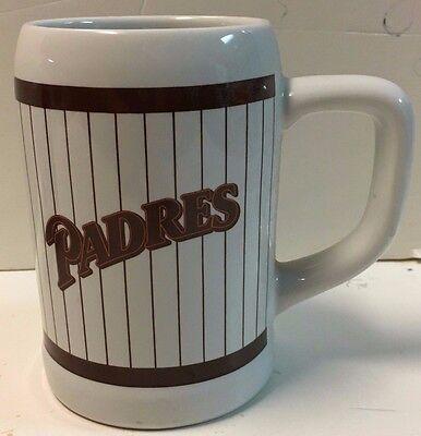 Vintage San Diego Padres L Keramiktasse Stein Mlb Sport Fanartikel