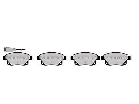 to suit 280mm disc FORD TRANSIT 280 300 2.2 TDCI REAR BRAKE PADS 2006-2012