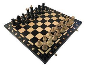 The Black Ambassador Chess Set