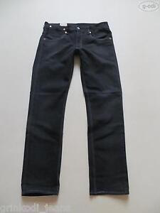 Levi-039-s-504-Stretch-Jeans-Hose-W-31-L-34-schwarz-NEU-Water-lt-Less-Denim-46