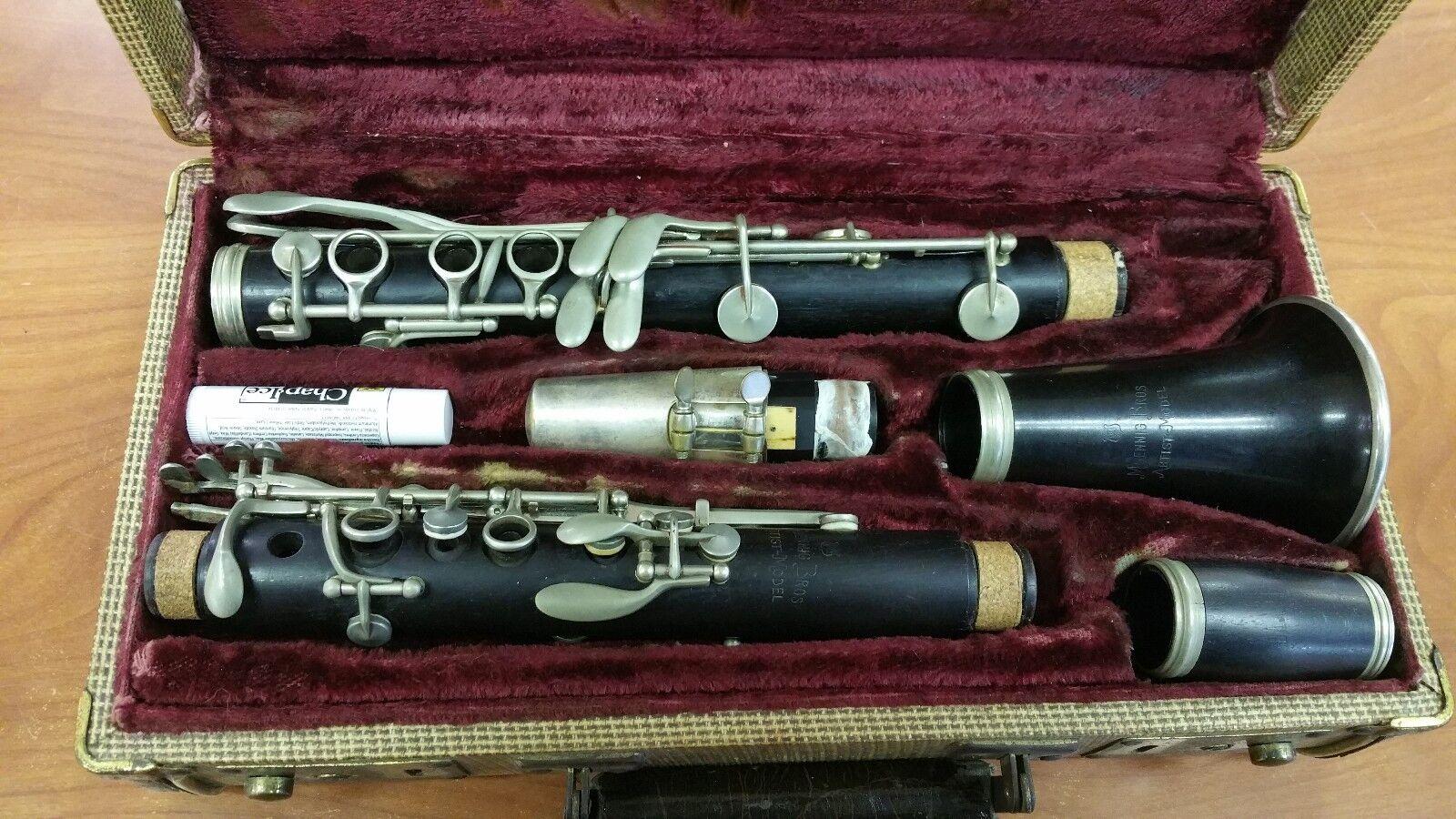MOENNIG Bros Artist Model Clarinet w  Case