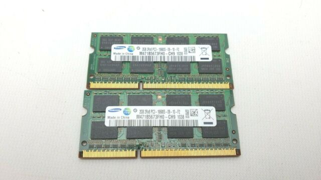 DDR3 2Rx8 PC3 10600 1333MHz 240-PIN 2X2GB Samsung 4GB M378B5673FH0-CH9