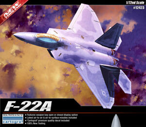 1-72-USAF-F-22A-Air-Dominance-Fighter-12423-ACADEMY-HOBBY-MODEL-KITS