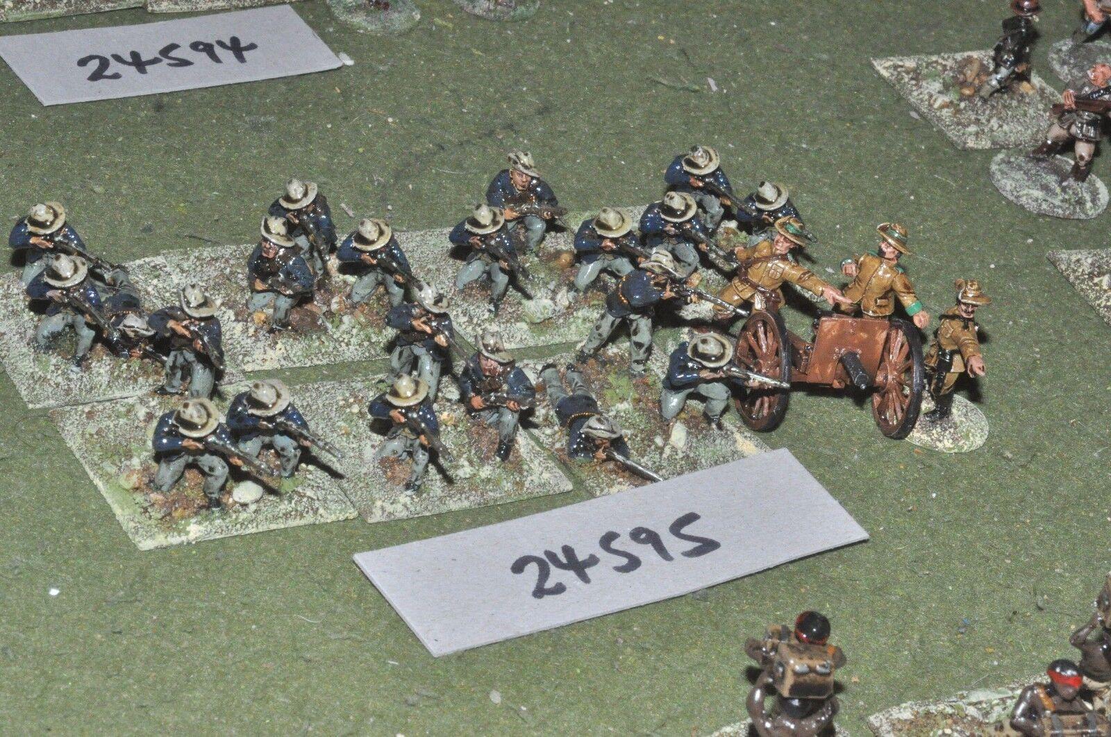 25mm Colonial boers-batalla grupo 24 figuras-INF (24595)