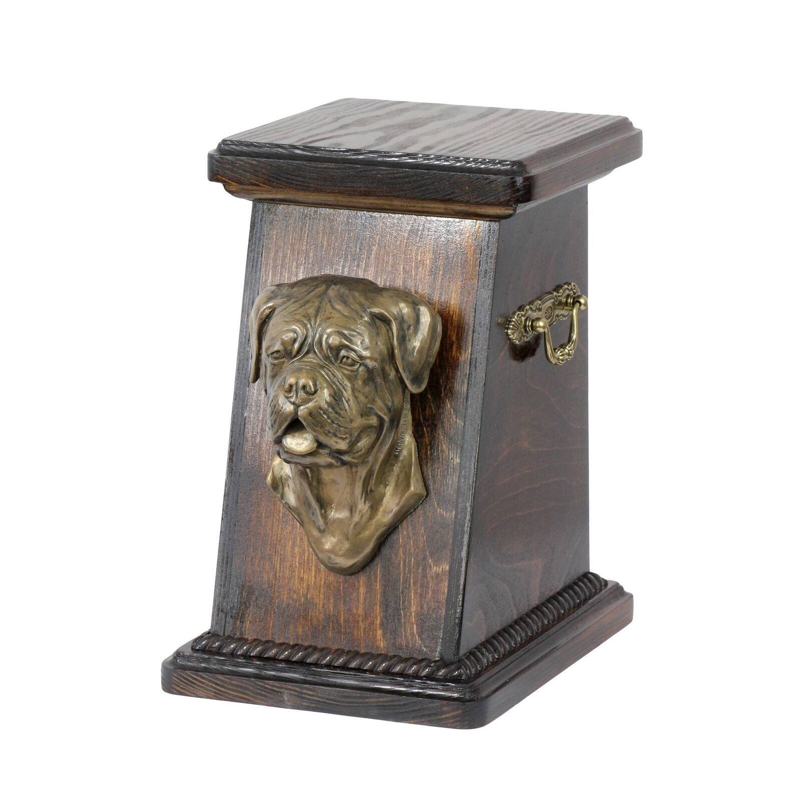 Dog de Bordeaux - exclusive urn for dog with statue, Art Dog type 2