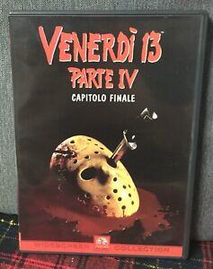 Venerdi-13-Parte-IV-4-Capitolo-Finale-DVD-Jason-Ex-Noleggio-Come-da-Foto-N