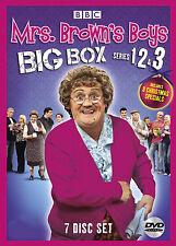 Mrs. Brown's Boys . Big Box . Complete Series 1-3 . Season 1 2 3 . 7 DVD . NEU