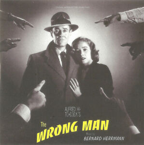 *NEW* CD Soundtrack- Alfred Hitchcock - The Wrong Man (Mini LP Style card Case)