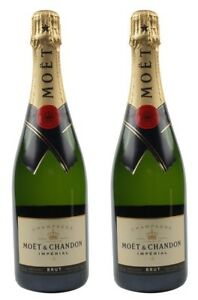Moet-amp-Chandon-Imperial-Brut-Champagne-2-BOTTLES-WITH-FREE-SHIPPING