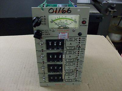 Gammaflux 943 Temperature Controller 4 Zone 220V 3 Amp Series 9 Used Industrial