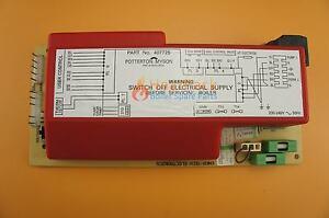 Potterton-Housewarmer-Main-Control-PCB-407725-27-20215-01-See-List-Below