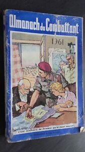 Almanach de La Luchador Pin Demuestra 1961 G. Durassie ABE